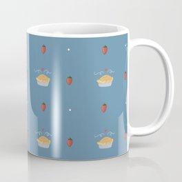 Fresh Strawberry Pie Pattern Coffee Mug