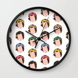HARRY STYLES: THE SCARF MANIA Wall Clock