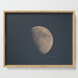 November Half Moon Serving Tray