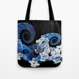Sea wave Tote Bag
