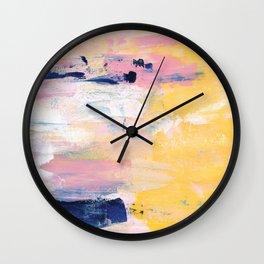The sun is shining Wall Clock