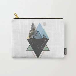 Woods in mountains Carry-All Pouch