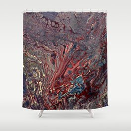 Pale Vibes Shower Curtain