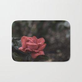 A Red Beauty Bath Mat
