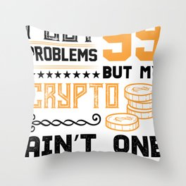 99 Problems with Crypto? Throw Pillow