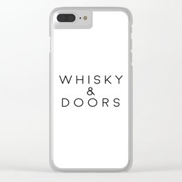Whiskey Print Whiskey Cocktail Whiskey Art Whisky And Doors Printable Art Bar Art Bar Decorations Clear iPhone Case