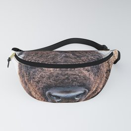 American Bison  -  A Living National Treasure Fanny Pack