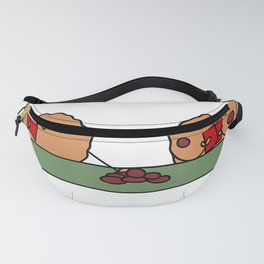 All in Cookie - Funny Chocolate Chip Poker T-Shirt Fanny Pack
