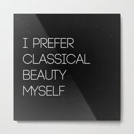 Classical Beauty Metal Print