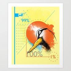 Swanesse Art Print