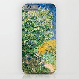 Lilacs by Vincent van Gogh iPhone Case