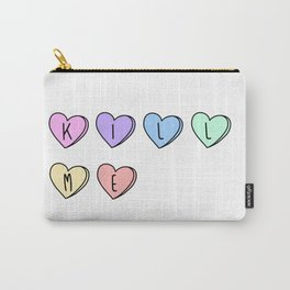 Kill Me Candy Hearts Carry-All Pouch