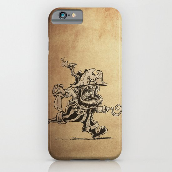 Steam powered Pirate iPhone & iPod Case