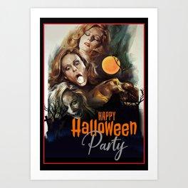 Halloween Poster Art Print