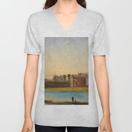 View Over The Elbe - Digital Remastered Edition Unisex V-Neck