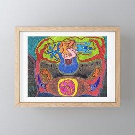 Veracious Birth Framed Mini Art Print