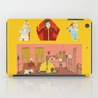 royal tenenbaums iPad Cases featuring The Royal Tenenbaums by Guiltycubicle