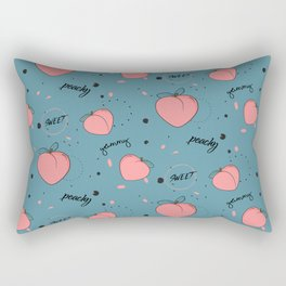 Sweet peach Rectangular Pillow