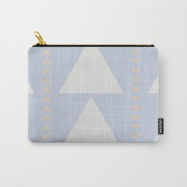 Southwestern Triangles No. 2 in Big Sky Carry-All Pouch