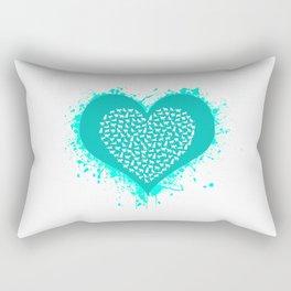 Cat Love Rectangular Pillow