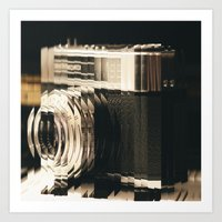 Wake Up With A Camera Art Print