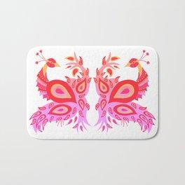 Peacock – Pink & Peach Ombré Palette Bath Mat