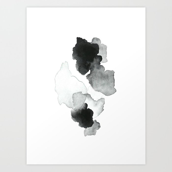 Discover the motif BLACK BLOT. by Art by ASolo as a print at TOPPOSTER