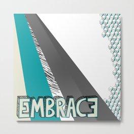 Embrace Metal Print