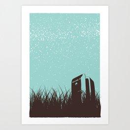 Fridge - Starry Skies Series 1 Art Print