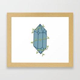 Vine Wrapped Crystal Framed Art Print