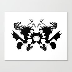BP Spill #1 Canvas Print