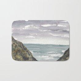 Atlantic Ocean Coastal Cliffs Bath Mat