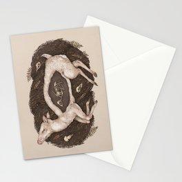 Predaceous Herbivore, Ghost Deer Stationery Cards