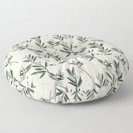 OLIVE BLOOM Floor Pillow