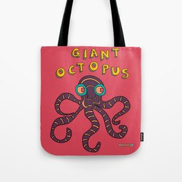 The Giant Octopus Tote Bag