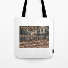 The Heights of Autumn Tote Bag