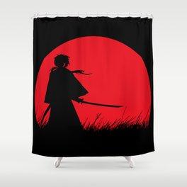 Samurai X Shower Curtain