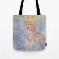 focus Tote Bags featuring Focus by Hinterland Girl