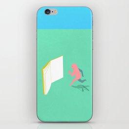 Exit Literature  iPhone Skin