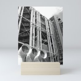 Centre Pompidou | Renzo Piano + Richard Rogers Mini Art Print