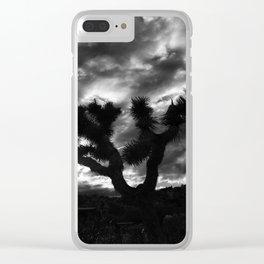 Black Waltz. Clear iPhone Case