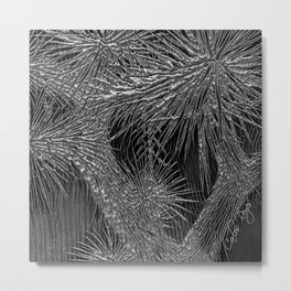 Joshua Tree Plata by CREYES Metal Print
