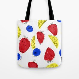 Mixed Fruit Tote Bag