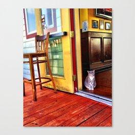 The Bar Cat Canvas Print