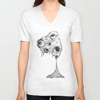 the thing V-neck T-shirts featuring Thing by Isabel Moffly