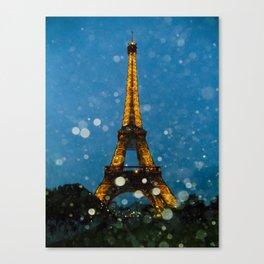 Eiffel Tower by Lika Ramai Canvas Print