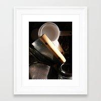 baking Framed Art Prints featuring Baking by SEB Market