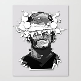 The Monster Infected Canvas Print