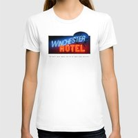 winchester T-shirts featuring Winchester Hotel by quickreaver