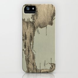 Vintage Map of Cape Cod (1885) iPhone Case